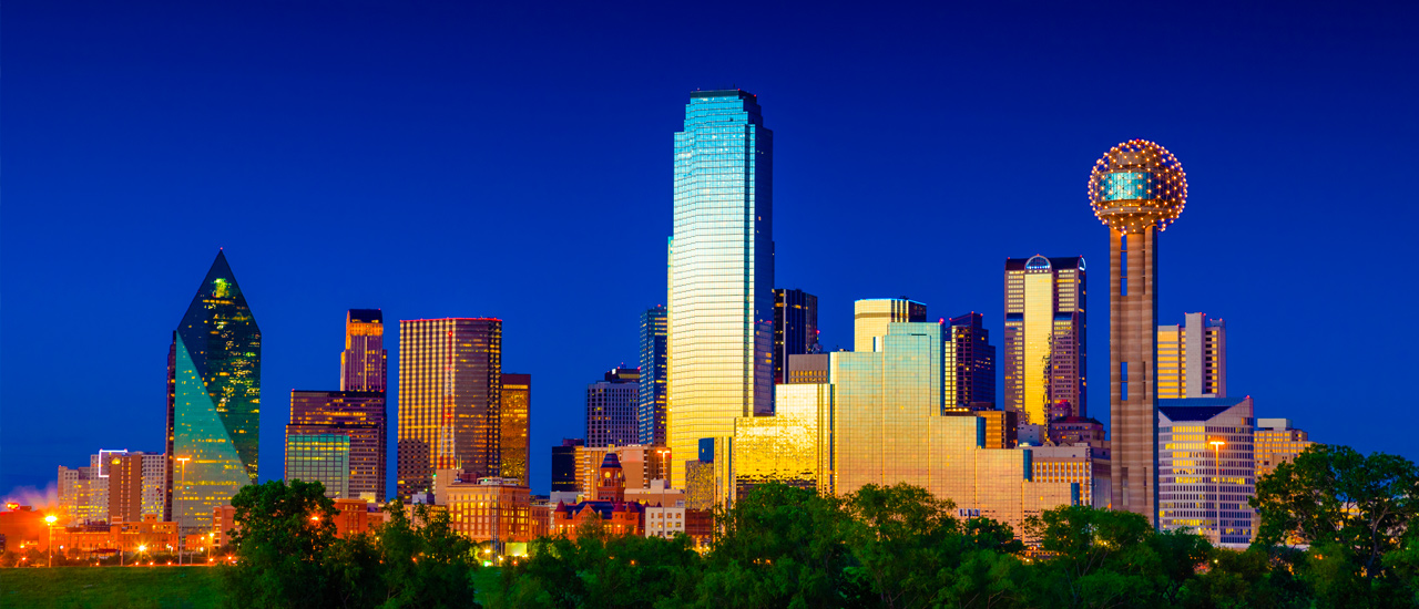 City of Dallas, Dallas Skyline